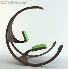 innovative furniture designs. Rocking-Wheel-Chair Innovative Furniture Design: Coffee Tables, Chairs, Sofas, Designs E
