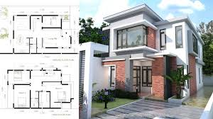 modern house plan 4 bedroom modern home plan size one story modern house plans in india