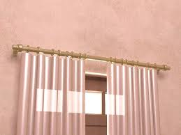 how to install curtain rods steps with pictures curtains and rods decorating curtain rods for sliding