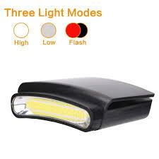 Best Hat Clip Light Best Quality Headlamps Led Clip On White Flashlight Cap
