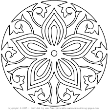 Small Picture Mandala Monday Mandala Coloring from free printable mandala