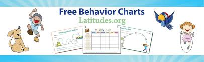 Printable Behavior Charts For Parents Free Printable Behavior Charts For Home And School Euni