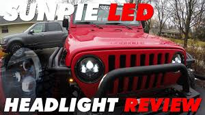 Sunpie Led Lights Best Jeep Wrangler Led Headlights Sunpie Led Review By Kylesvt