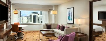 Seattle Lodging OneBedroom Suites Sheraton Seattle Hotel - Seattle hotel suites 2 bedrooms