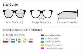 Glasses Lens Size Chart Rayban Aviator Size Guide Ray Ban Caravan Sizes Sizing Chart