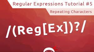 Regex Repeating Pattern Custom Design