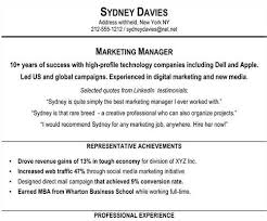 resume professional summary examples resume overview examples