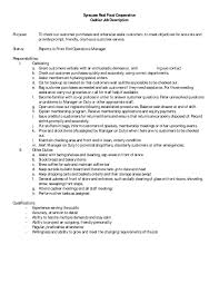 Retail Job Description Resume Examples Of Resumes 100 Cover Letter Template For Job Description 40