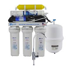 6 stage residential under sink reverse osmosis drinking water filtration system with remineralization filter