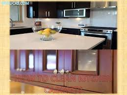 how to clean grease on kitchen cabinets ing wood clean grease rh femvote info