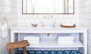 bathroom floor tile blue. white-bathroom-subway-tile-blue-cement-tile-floor- bathroom floor tile blue