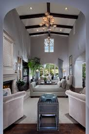 small narrow living rooms long room furniture. Living Room Long Narrow Design - Like The 2 Chandelier Idea And Using An Open Back Sofa To Divide Yet Keep For Fireplace TV Area Small Rooms Furniture E