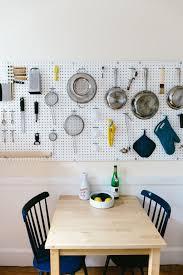 Kitchen: Small Kitchen Pegboard Storage Ideas - Small Kitchen Storage