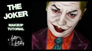 joker makeup transformation
