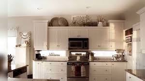 Decorating Above Kitchen Cabinets With High Ceilings Kitchen Youtube