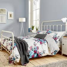buy joules charlotte cream floral duvet cover  amara
