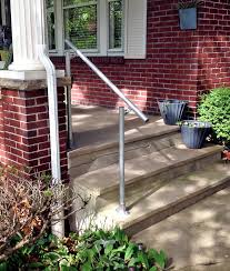 13 outdoor stair railing ideas that