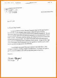 Brilliant Ideas of Generic Reference Letter For High School Student Letter Template