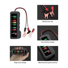 Digital Display Test Light China Bm310 Mini 12v Car Battery Tester Digital Test Tool