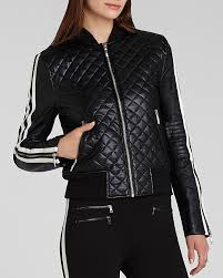bcbgmaxazria jacket morgan quilted faux leather er