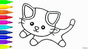 simple cat drawing for kids simple cat drawing for kids at getdrawings free for personal