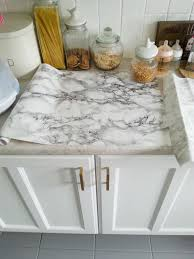 Diy Super Cheap Easy Marble Look Counters Done With Contact Paper Buy  Kitchen Countertops Online India D75be9b19c4d2ff5406a044aba8