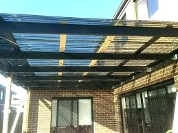 clear roof panels roofing panels clear roof panels deck cover image of roof panels railing throughout