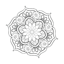 coloring book pages for kids mandalas coloring pages printable mandalas for kids coloring book pages mandalas