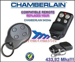 hot items 2 piceesfor chamberlain 94334e compatible remote control replacement transmitter garage door opener locksmith kits locksmith lock from