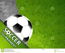 Football Invitation Template Template For The Invitation Soccer Tournament Stock Vector