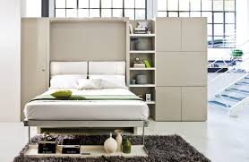 Contemporary Furniture Small Spaces. Wall Bed And Sofa Contemporary Furniture  Small Spaces N