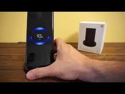 <b>Xiaomi Mi</b> Wireless Charging Stand <b>20W</b> vezeték nélküli töltőpad ...