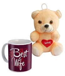 sky trends best wife mug and teddy valentine s day gifts set sky trends best wife mug and teddy valentine s day gifts set at best in india on
