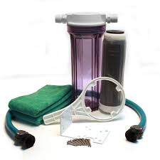 clean water filter kit clear inline