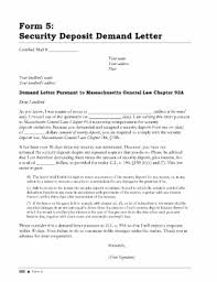 recent al security deposit form experience templates return letter template format for refund copy receipt new