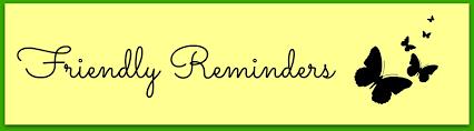 Image result for reminder clipart images