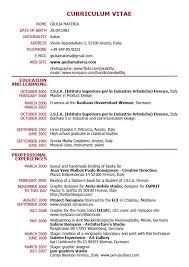 Curriculum Vitae Format PDF - http\/\/topresumeinfo\/curriculum - regular