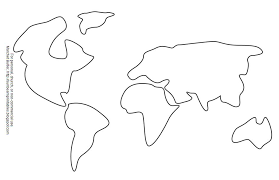 Small Picture Continents Coloring Page Clipart Panda Free Clipart Images