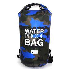 Outdoor <b>Camouflage Waterproof Bag</b> Portable Rafting Diving <b>Dry</b> ...