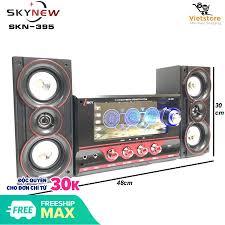 SIÊU SALE 11-11 Dàn âm thanh tại gia - Dan âm thanh tai nha - loa vi tính  hat karaoke có kết nối Bluetooth USB SKYNEW - SKN395 - Phân phối bởi  Vietstore: Mua bán trực tuyến Dàn âm thanh tại gia với giá rẻ