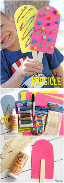 Popsicle Craft for Pretend Play - Darice