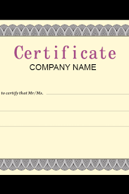 Making A Certificate Certificates Printing Design Custom Certificate Templates With