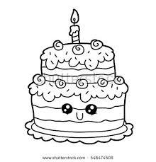 Smartness Ideas Birthday Cake Coloring Page Free Printable Cupcake