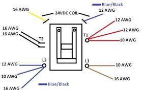 contactor wire diagram ac contactor wiring diagram wiring diagram and schematic design wiring diagram contactor zen