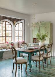 country style dining rooms. Chair Plate Chandelier Flower Vase Curio Cabinet White Sofa Cushion Bench Window Sconce Green Blanket The Country Style: Style Dining Room Rooms Pinterest