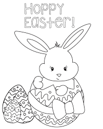 Free Easter Coloring Pages Printable Kids Love Colored And Uncolored