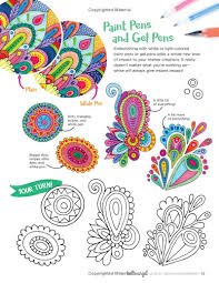 let s get creative with markers a creative workbook for coloring shading blending