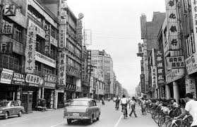 西門町西寧南路半世紀的變化