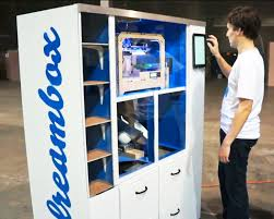 Build A Vending Machine Awesome Dreambox 48D Printer Vending Machine Creates And Dispenses Designs