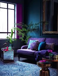 color statement bold color sofa